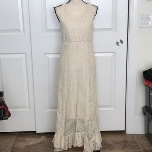 Pretty lace sundress fully lined.
